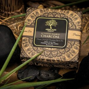 Bamboo Charcoal with Peppermint oil Glycerin Bar